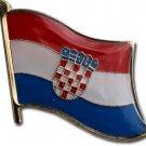 Croatia Flag Lapel Pin