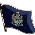Maine Flag Lapel Pin