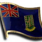British Virgin Islands Flag Lapel Pin