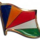 Seychelles Flag Lapel Pin