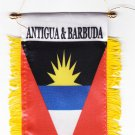 Antigua and Barbuda Window Hanging Flag