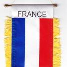 France Window Hanging Flag