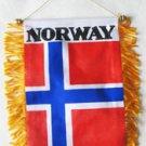 Norway Window Hanging Flag
