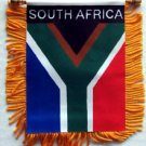 South Africa Window Hanging Flag