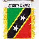 St. Kitts and Nevis Window Hanging Flag