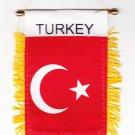 Turkey Window Hanging Flag