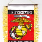 Marines Window Hanging Flag