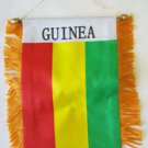 Guinea Window Hanging Flag