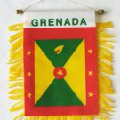 Grenada Window Hanging Flag