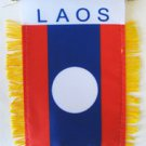 Laos Window Hanging Flag