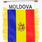 Moldova Window Hanging Flag