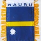 Nauru Window Hanging Flag