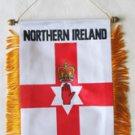 Northern Ireland Window Hanging Flag