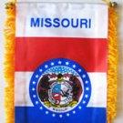 Missouri Window Hanging Flag