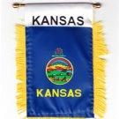 Kansas Window Hanging Flag