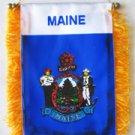 Maine Window Hanging Flag