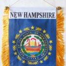 New Hampshire Window Hanging Flag