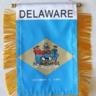 Delaware Window Hanging Flag