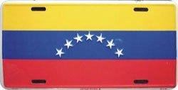Venezuela (Civil) License Plate (Old)
