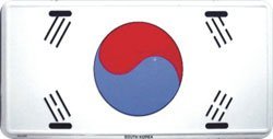 South Korea License Plate