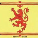 Scotland License Plate (Lion)