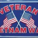 Vietnam Veterans License Plate