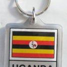 Uganda Keyring