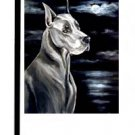 "Great Dane (Moonlight) - 11""""x15"""" 2-Sided Garden Banner"