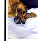 "Great Dane (Mom's Love) - 11""""x15"""" 2-Sided Garden Banner"