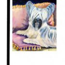 "Skye Terrier (Pillow Talk) - 11""""x15"""" 2-Sided Garden Banner"