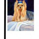 "Yorkshire Terrier (Bed Bug) - 11""""x15"""" 2-Sided Garden Banner"