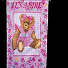 It's a Girl Toland Art Banner