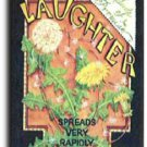 Laughter Seeds Toland Art Banner