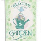 Watering Can Welcome Toland Art Banner