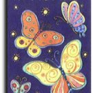 Nightlight Butterflies Toland Art Banner