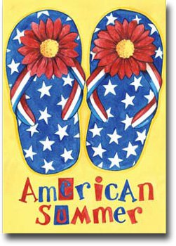 American Summer Toland Art Banner