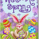 Welcome Spring Toland Art Banner
