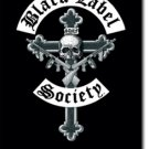 Black Label Society Textile Poster (Crucifix)