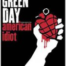 Green Day Textile Poster (American Idiot)