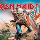 Iron Maiden Textile Poster (Trooper)