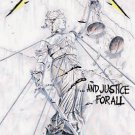 Metallica Textile Poster (Justice for All)