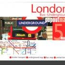 London Popout Map (Underground)