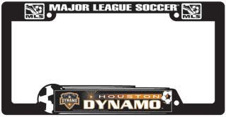 Houston Dynamo License Plate Frame