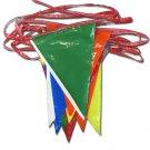 30' Pennant Streamer (Multi Color)