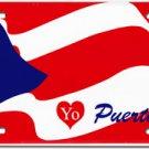 Puerto Rico License Plate (Yo Puerto Rico)