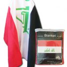 Iraq Fleece Blanket (2008)