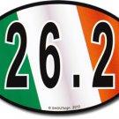 Ireland Wavy Oval Marathon Decal
