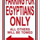 Egypt Metal Parking Sign