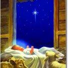 Baby Jesus Toland Art Banner