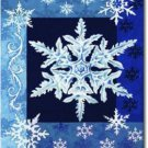 Cool Snowflakes Toland Art Banner